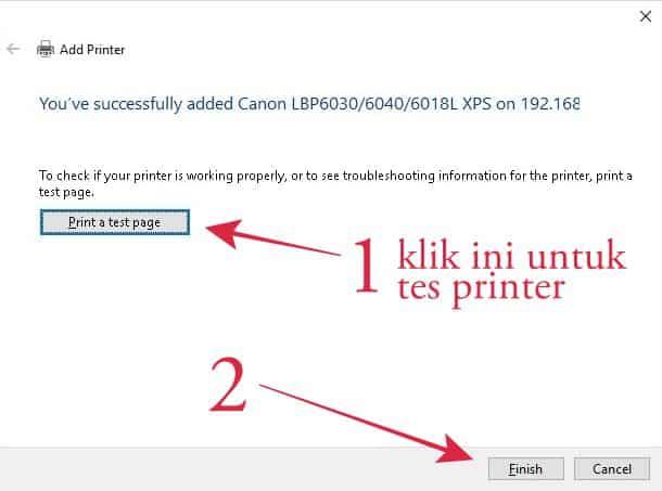 Add printer lewat control panel 2