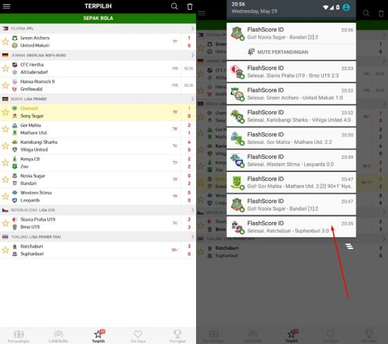 Aplikasi Live Score Terbaik FlashScore Indonesia 3
