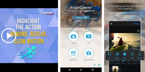 Aplikasi edit video terbaik di android ActionDirector 1
