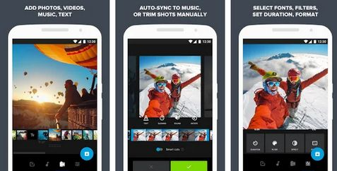 Aplikasi edit video terbaik di android Quik 6