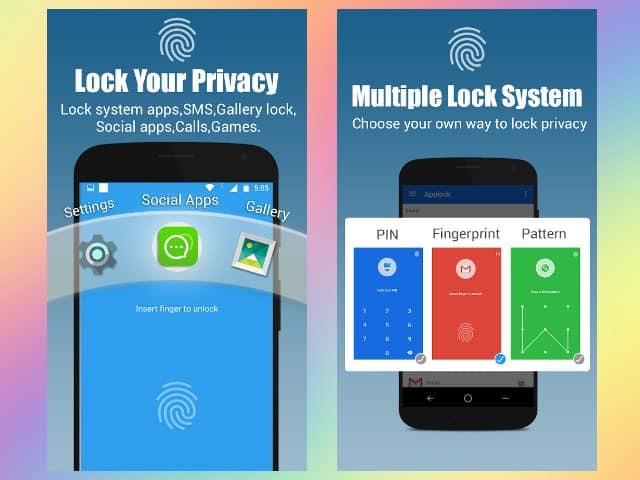 App Lock Real Fingerprint Password