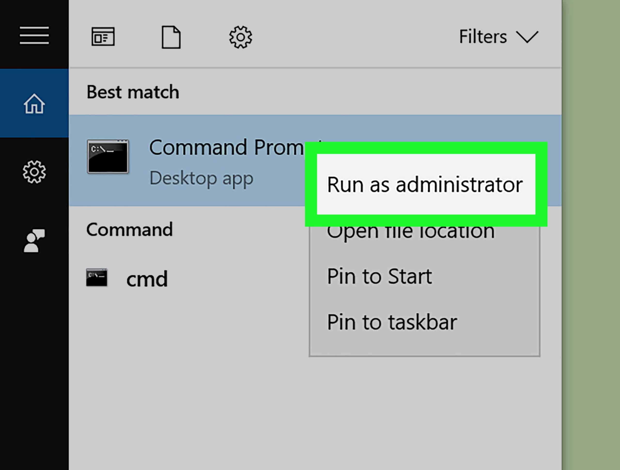 Buka-Program-CMD-caranya-Klik-Start-lalu-pada-kolom-search-ketikan-CMD-lalu-Klik-Enter.-Klik-Kanan-lalu-pilih-Run-As-Administrator