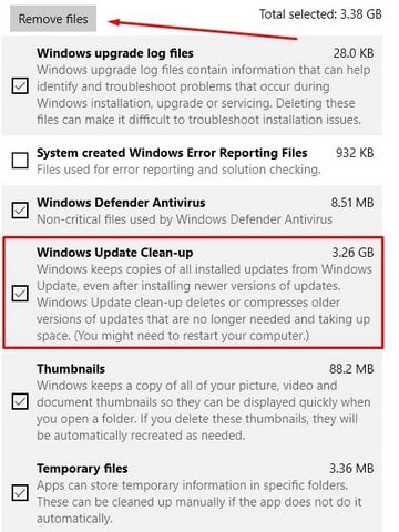Cara membersihkan file sampah dan cache di drive c windows 10 3