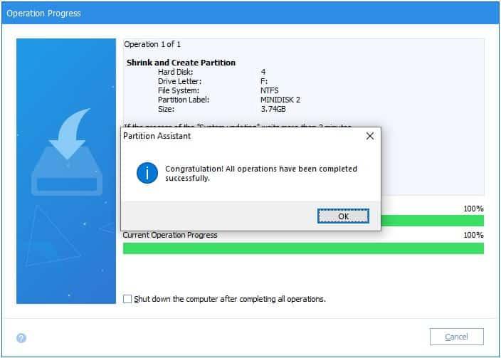 Cara membuat partisi baru dengan aplikasi AOMEI Partition Manager 2