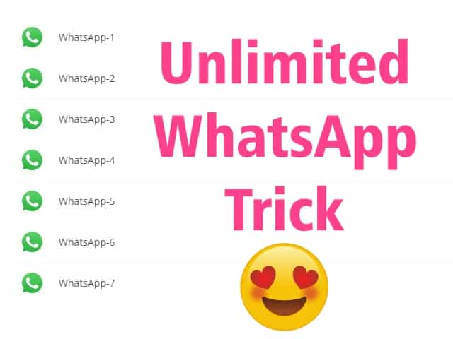 Cara membuka banyak akun whatsapp dalam 1 aplikasi