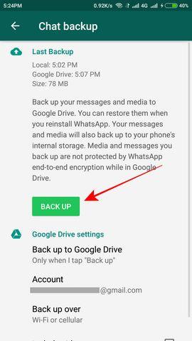 Cara memindahkan WhatsApp ke HP baru tanpa kehilangan chat dan kontak 4