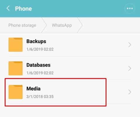 Cara memindahkan whatsapp ke memori eksternal 10