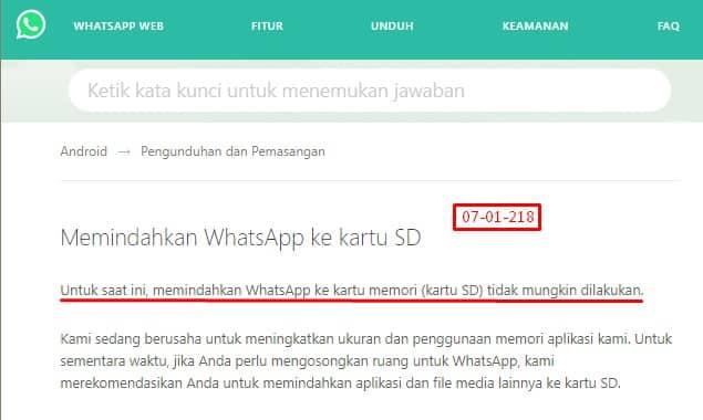 Cara memindahkan whatsapp ke memori eksternal 5