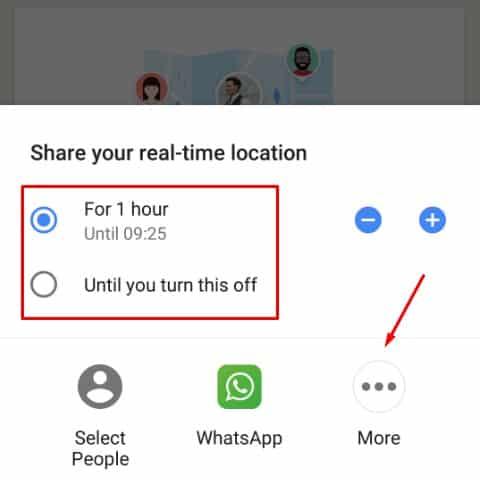 Cara mengetahui posisi seseorang lewat google maps 3