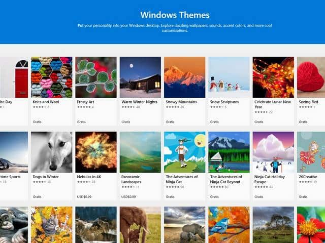 Cara mengganti tema windows