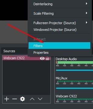 Cara setting webcam logitech c922 6