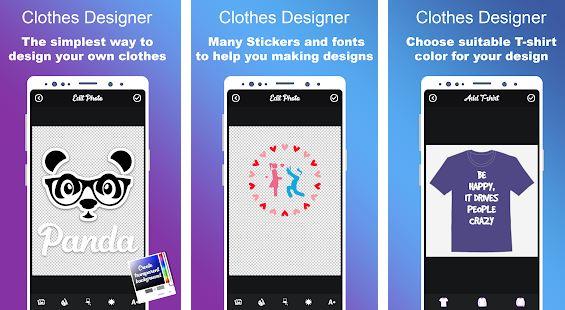 Clothes Designer aplikasi desain baju terbaik android