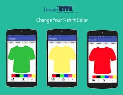 DesainKita aplikasi android desain baju buatan Indonesia