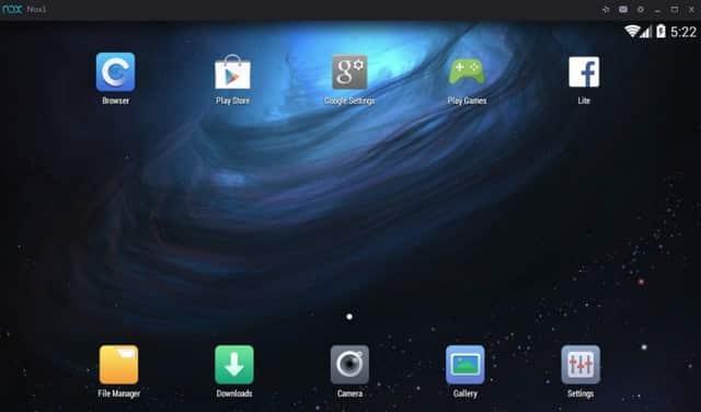 Emulator android terbaik paling ringan NOX App Player