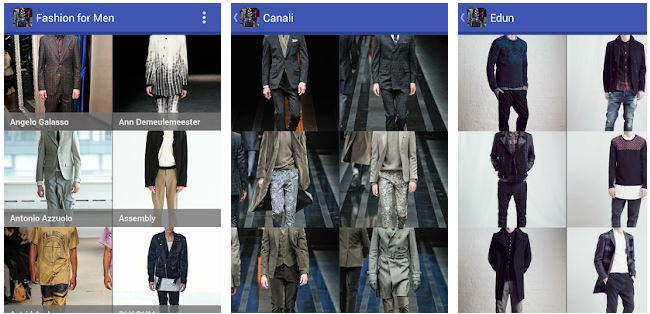 Fashion for Men aplikasi desain baju pria