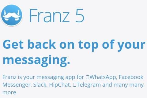 Franz aplikasi untuk membuka 2 atau banyak akun whatsapp