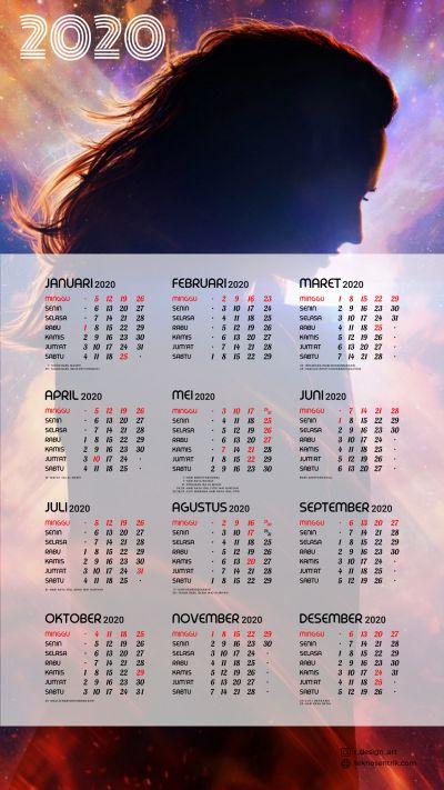 Kalender 2020 background X Men Dark Phoenix portrait Full HD 4K