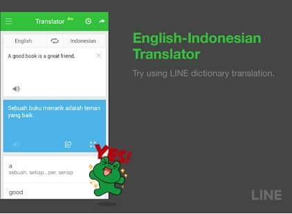 Line kamus inggris offline
