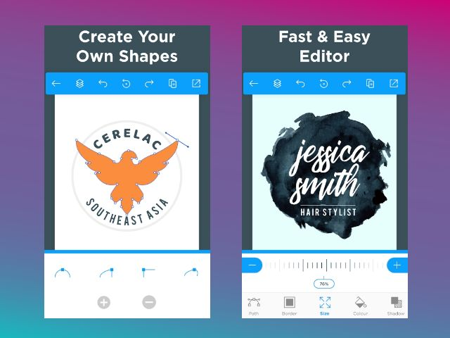 Logo Maker online untuk android 1