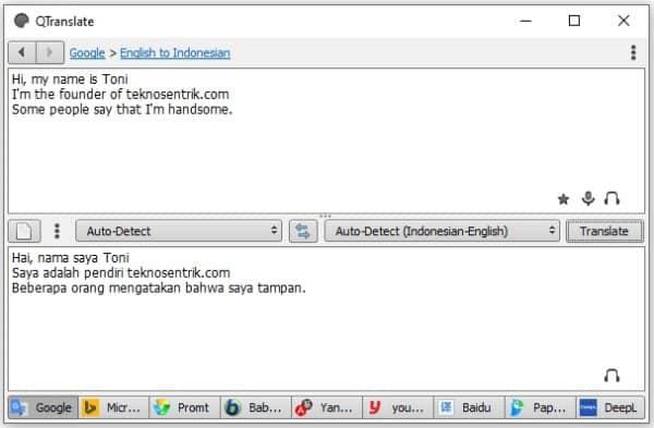 Qtranslate aplikasi kamus online untuk pc