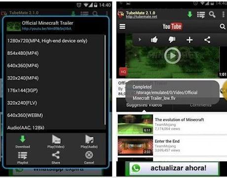 TubeMate aplikasi download youtube