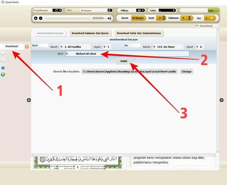 aplikasi al quran digital terbaik untuk pc dan laptop 9