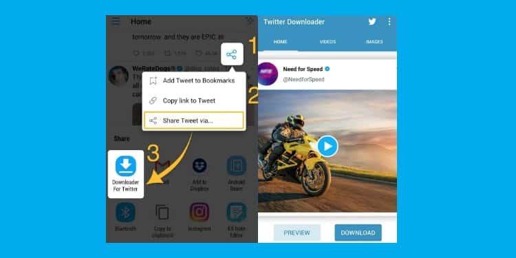 aplikasi android terbaik untuk download video dari twitter
