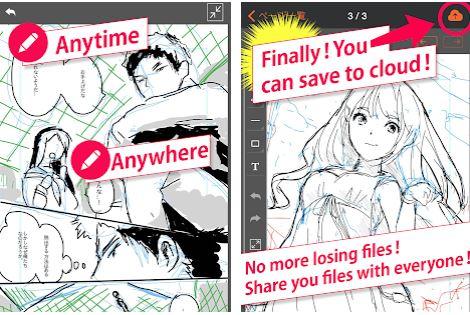 aplikasi android terbaik untuk membuat komik manga