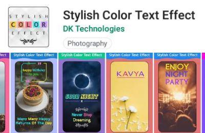 aplikasi android untuk membuat tulisan warna warni di hp