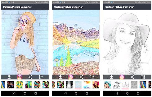 aplikasi edit foto kartun untuk android
