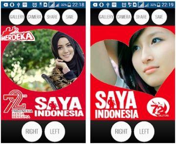 aplikasi foto profile kemerdekaan ri 74