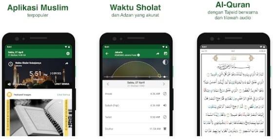 aplikasi jadwal solat dan suara adzan untuk hp android
