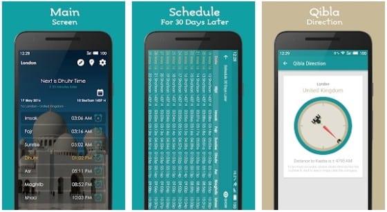 aplikasi jadwal solat kiblat dan adzan android