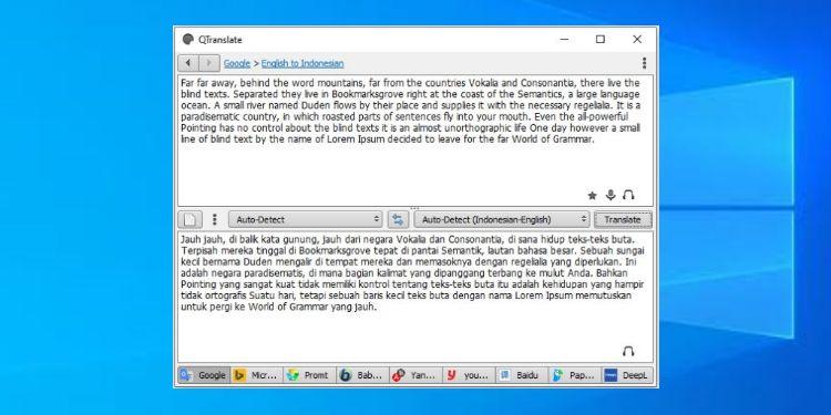 aplikasi kamus penerjemah kalimat bahasa inggris indonesia untuk pc
