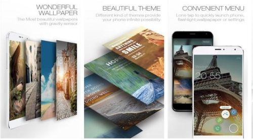 aplikasi locker dengan tema dan wallpaper