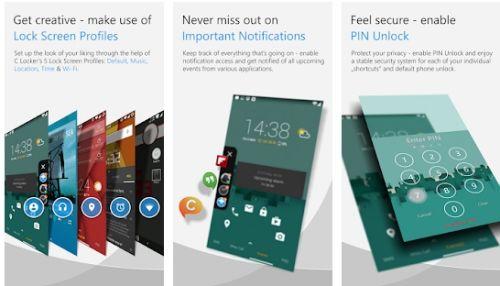 aplikasi pengunci layar dengan tema keren