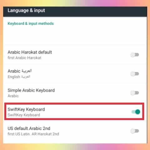 aplikasi swiftkey untuk membuat tulisan arab 4