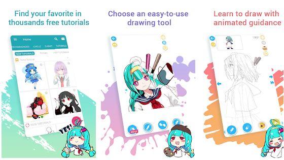 aplikasi untuk membuat anime dan manga