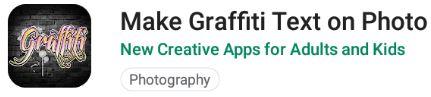 aplikasi untuk membuat tulisan grafiti di foto