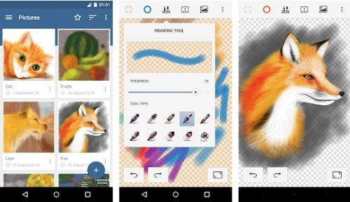 aplikasi untuk membuat vector di android