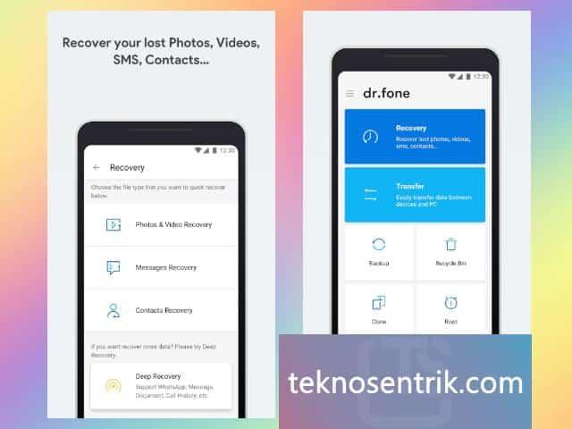 aplikasi untuk mengembalikan foto dan video yang terhapus