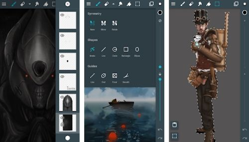 artflow aplikasi pengganti corel draw android