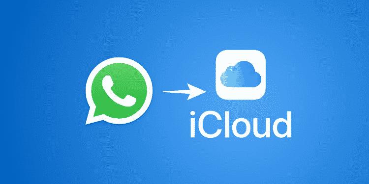 cara backup whatsapp ke icloud di iphone otomatis