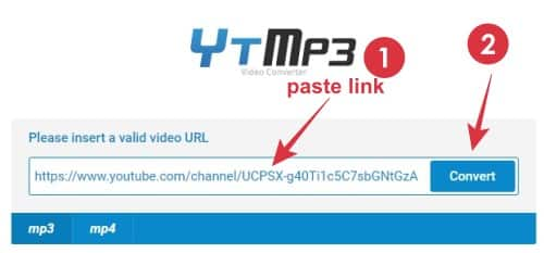 cara convert youtube jadi mp3