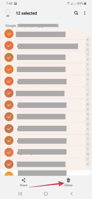 cara hapus kontak WhatsApp sekaligus permanen