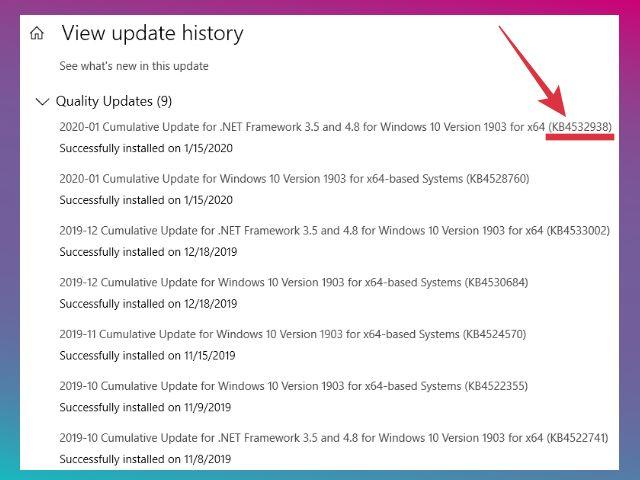 cara hapus update windows 10 lewat cmd