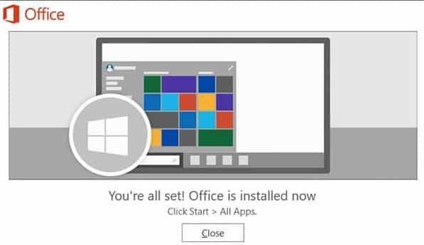 cara install office 365 2