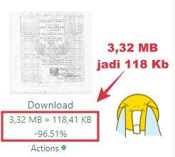 cara kompres pdf jadi 300 kb online