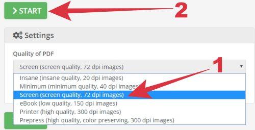 cara kompres scan pdf menjadi 300 kb