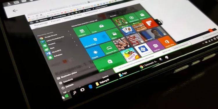 cara membuat start menu dan task bar windows 10 transparan